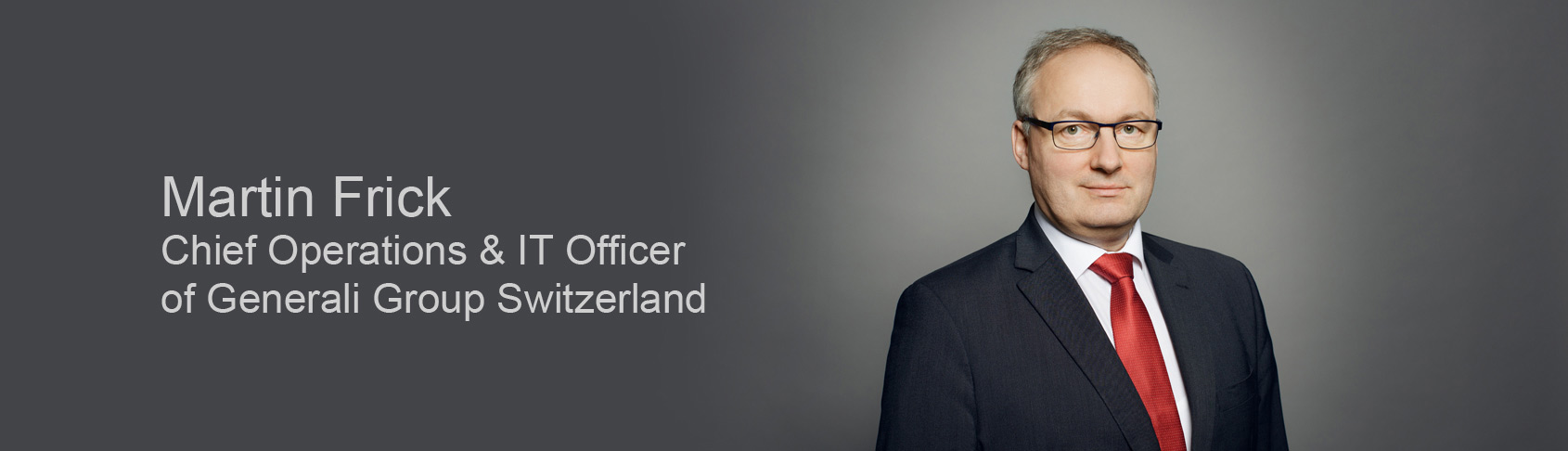 Frick Frankfurt martin frick to become chief operations it officer generali